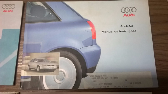 Manual Do Proprietário Audi A3 Turbo Completo