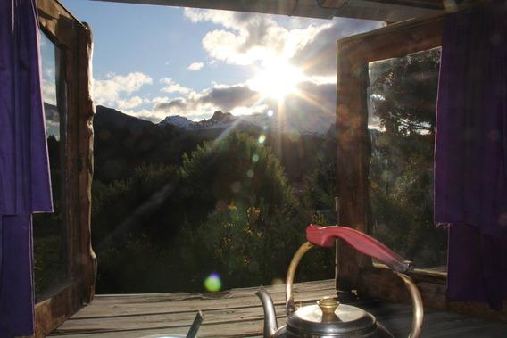 Bariloche-casa De Montaña Con Excelente Vista