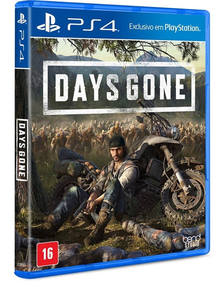 Game Days Gone Ps4 Midia Fisica Dvd Original Novo Promoção