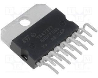 Pack 5 Tda7377 2x30w Dual Quad Power Amplifier