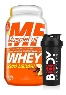 Whey Protein Zero Lactose 900g - Muscle Full
