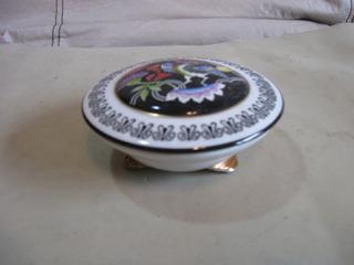 Antiguo Alhajero De Porcelana, Exposicion Sajonia, Briones