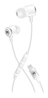 Maxell Audifonos Tipo iPhone 7 iPhone 8 Blanco