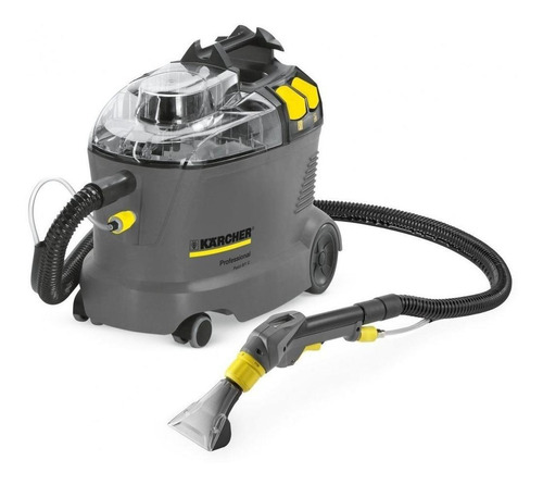 Imagen 1 de 1 de Lava aspiradora Kärcher Professional Puzzi 8/1 C 8L  gris, negra y amarilla 110V-127V