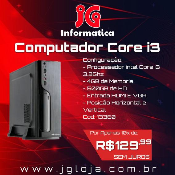 Computador Intel Core I3 Slim (13360)