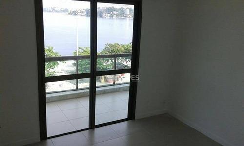 Apartamento Com 3 Dormitórios À Venda, 126 M² Por R$ 1.800.000,00 - Charitas - Niterói/rj - Ap35468