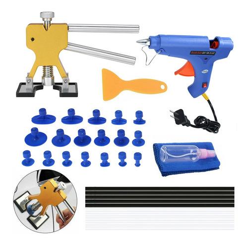 Imagen 1 de 10 de Kit De Herramientas De Reparación De Abolladuras Sin Pintura