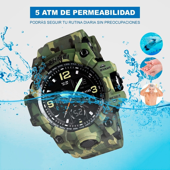 Reloj Análogo Race - Verde