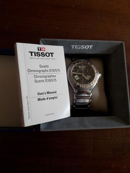 Tissot Atollo Chronograph - Sapphire Crystal - Swiss Made - Estojo E Manual - Completo - Oportunidade!!! Raríssimo!!!