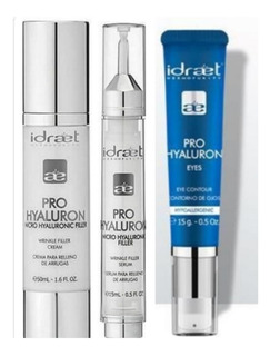 Idraet Pro Hyaluron Kit X3: Crema+ Serum + Contorno Ojos
