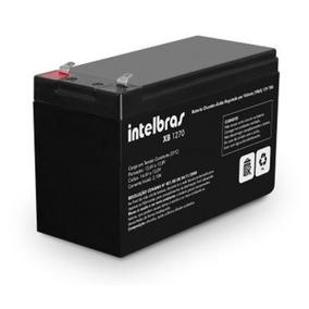Bateria Selada Para Cerca Elétrica 12v 7a Xb1270 Intelbras
