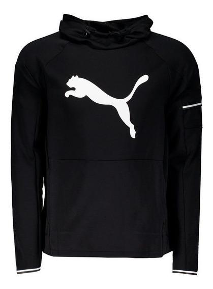 Moletom Puma Tec Sports Logo Preto
