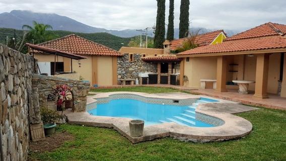 Hermosa Quinta En Santiago Nl Con Alberca A 1 Cuadra Cavazos
