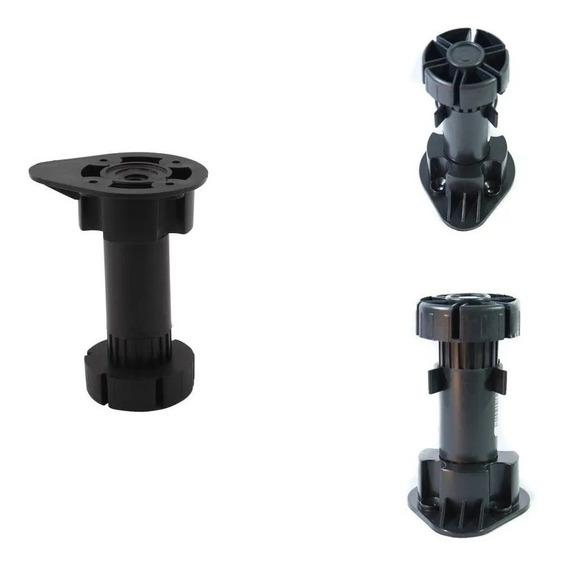 Pata Plastica Para Mueble 10 A 12.5 Cm + Clip P/ Zocalo X 10