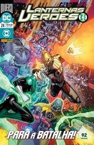 Lanternas Verdes N° 24 - Novo E Lacrado!!! Baú Comic Shop