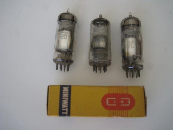 Válvulas Eletrônicas Ech81, Uch81 E Uch42 Philips, Testadas