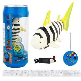 Forma Tubarão Rc Elétrico Controle Remoto Peixe Brinquedos A