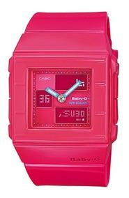 Relogio Casio Baby-g Feminino Bga-200 4ed H.mundial 200m Ro