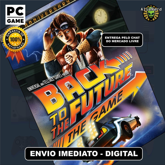 Back To The Future The Game - Original - Pc - Mídia Digital