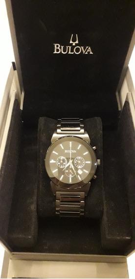 Relógio Bulova Preto Masculino Nunca Usado
