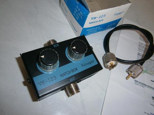 Acoplador De Antenas Voyager Vk-123 + Cabo + Frete Gratis  !