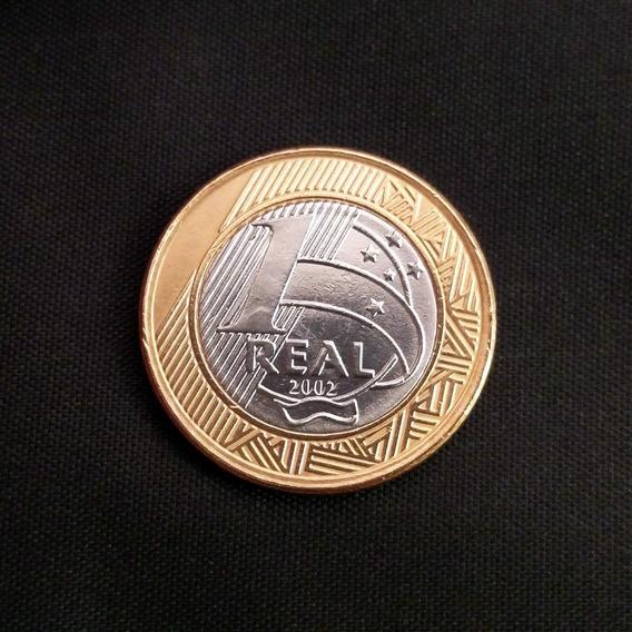 Moeda 1 Real 2002 Centenário De Juscelino Kubitschek