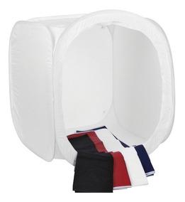 Tenda Difusora Dobrável Portátil 50x50x50cm Mini Estúdio