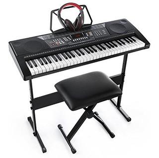 Joy Jk66m 61key Simulation Piano Kit De Teclado Electrónico
