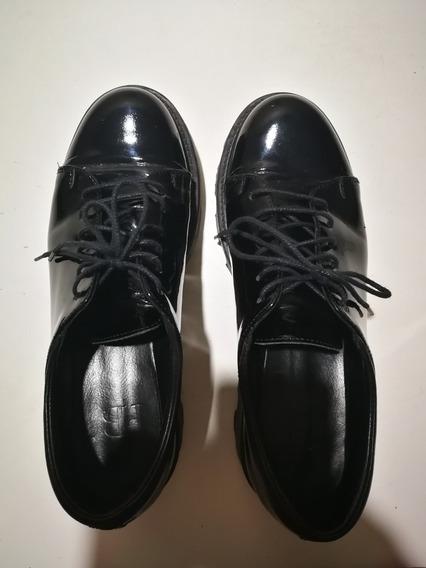 Oferta Zapatos Febo Charol Negros 38-38,5 | Usados