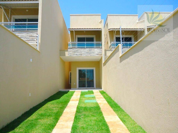 Duplex Novo Com 3 Quartos Em Messejana - Ca0353