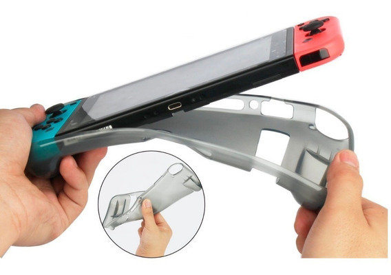 Capa Tpu Case Proteção Ergonômica Silicone Anti-risco Switch