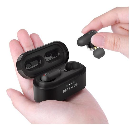 Fone Bluetooth 5.0 Blitzwolf® Bw-fye7 Dual Dynamic Drive
