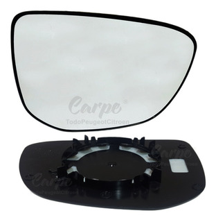 Mano Izquierda Lado Pasajero Espejo Vidrio Para Citroen C-Elysee 2012-2019 0855LS