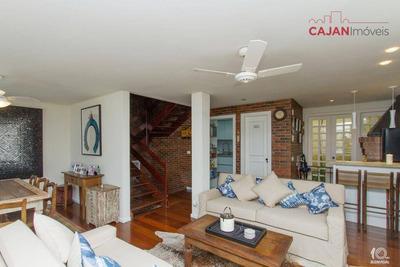 Casa Em Condomínio Com 3 Dormitórios E 3 Vagas No Bairro Chácara Das Pedras - Ca0325