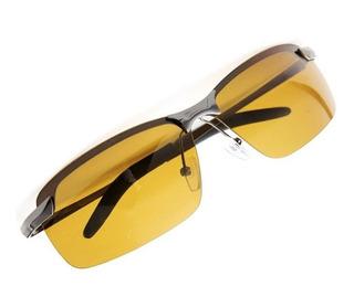 Óculos Polarizado Direção Noturna Noite Lente Amarela