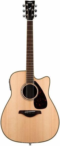 Guitarra Electroacústica Yamaha Fgx830c Nt Natural Nueva