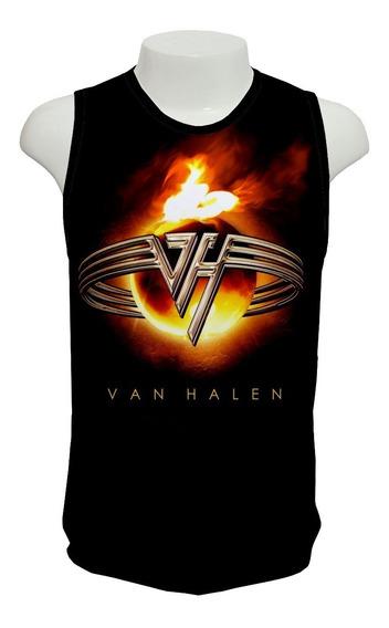 Camiseta Banda Van Halen - Regata