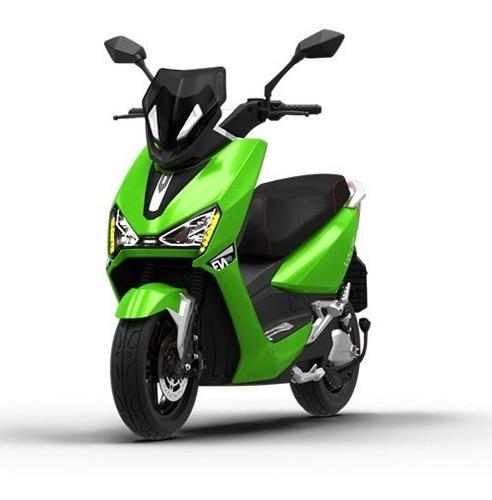 Imagem 1 de 10 de Scooter Moto Elétrica Voltz Ev1 Sport Verde - 2 Baterias