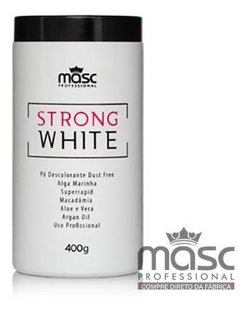 Imagem 1 de 1 de Pó Descolorante Strong Whitte 400g