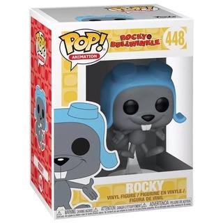 Funko Pop Rocky N°448 Rocky & Bullwinkle Nuevo En Caja
