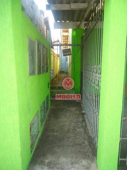 Casa Com 1 Dormitório Para Alugar, 40 M² Por R$ 400,00/mês - Parque Cecap Ii - Piracicaba/sp - Ca1278