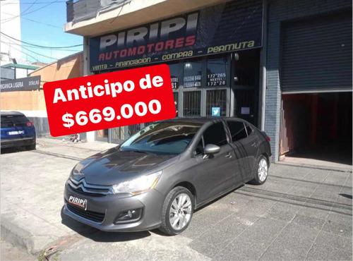 Citroën C4 Lounge 2014 Gnc  Tendance, Anticipo De $669.000