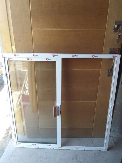 Ventanas De Aluminio Blancas 100x100