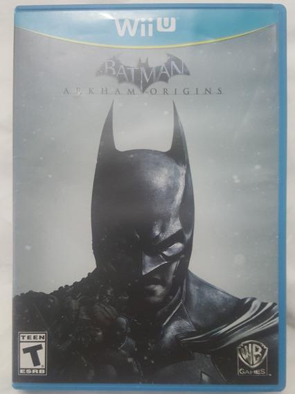 Jogo Nintendo Wii U Batman Arkham Origins