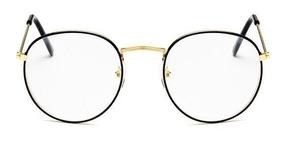 1032507217 Precio. Publicidad. Montura Gafas Metalicas Recetadas Retro Redondas Hipster