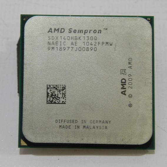 Processador Amd Sempron 140 2.7ghz 1mb Cache Socket Am3