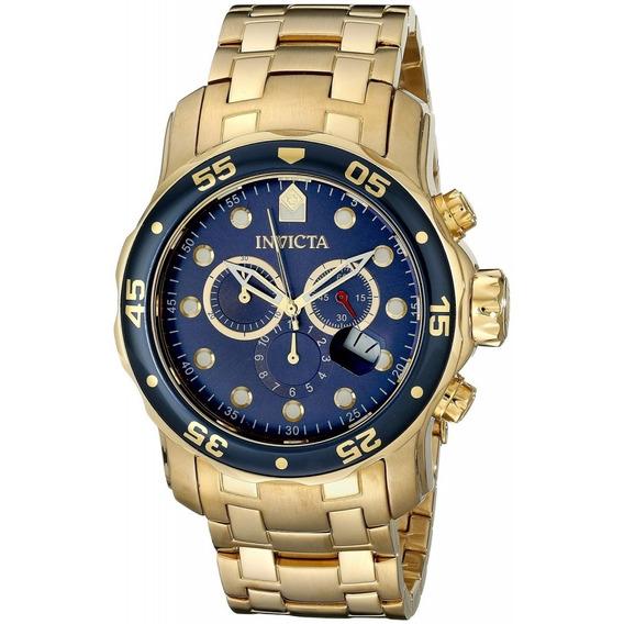 Relógios Invicta Pro Diver 21923 Ouro 18k