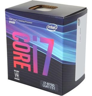 Procesador Intel Core I7-8700 3.2 Ghz Lga 1151