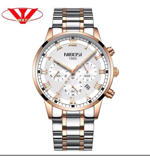 Promoção Relógio Masculino Nibosi 2339 Original 30m