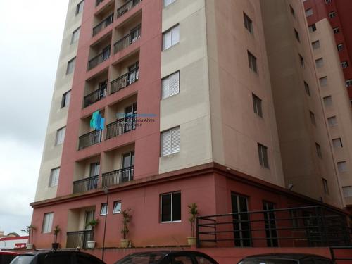 Apartamento A Venda No Bairro Assunção Em São Bernardo Do - 171-1